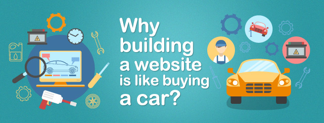 Why Building A Website Is Like Buying A Car?